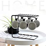 TY&WJ Mug Holder Metal Mug Hooks Coffee Mug Tree Drying Rack Stand Household Kitchen Restaurant Senior Multifunction Mug Holders