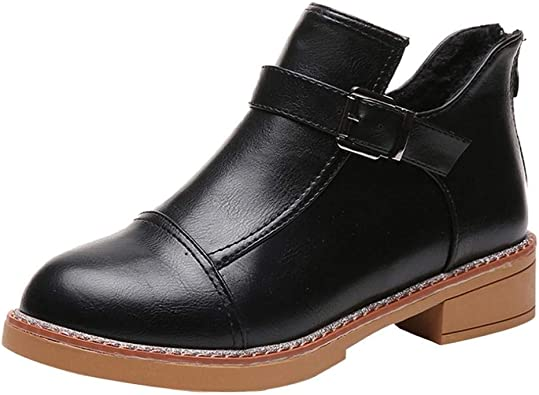 MEHOUSE Femmes Bottes Élégantes Chaussures pour Femmes Mode