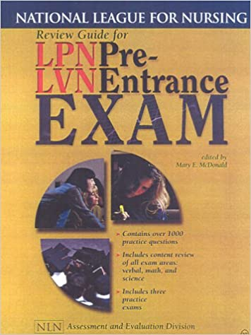 Review guide for lpnlvn pre entrance exam national league for review guide for lpnlvn pre entrance exam national league for nursing series 9780763710613 medicine health science books amazon fandeluxe Image collections