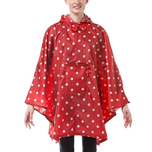 Reisenthel Mini Maxi Poncho Multi-Coloured - ruby dots