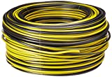 Sanelec 4082 Cable THW, Calibre 12 AWG, Color Negro 100M