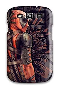 Hot Fashion FmuQGrA8256lGsGS Design Case Cover For Galaxy S3 Protective Case (deadpool)