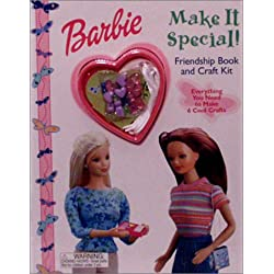 Make It Special!: Friendship Book and Craft Kit (Barbie Friendship Craft Kit)