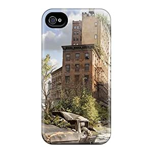 Top Quality Case Cover For Iphone 4/4s Case With Nice Unknown Future Appearance