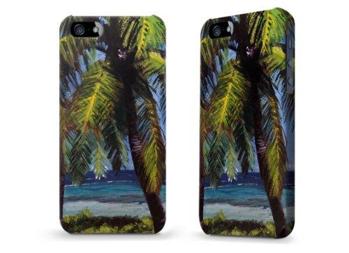 """Hülle / Case / Cover für iPhone 5 und 5s - """"Palms"""" von Kaitlyn Parker"""