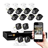 Defender HD 1080p 16 Channel 2TB Security System with 16 Bullet Cameras