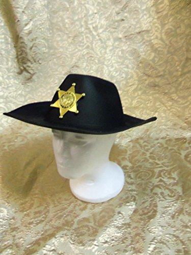 Black Cowboy Hat Costume (Geany Costume)