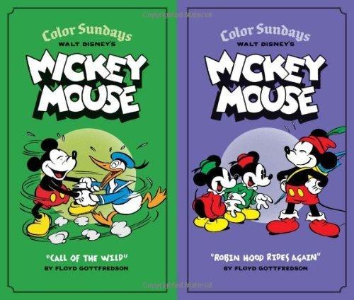Walt Disney's Mickey Mouse Color Sundays Gift Box Set by Gottfredson, Floyd (2013) Hardcover ebook
