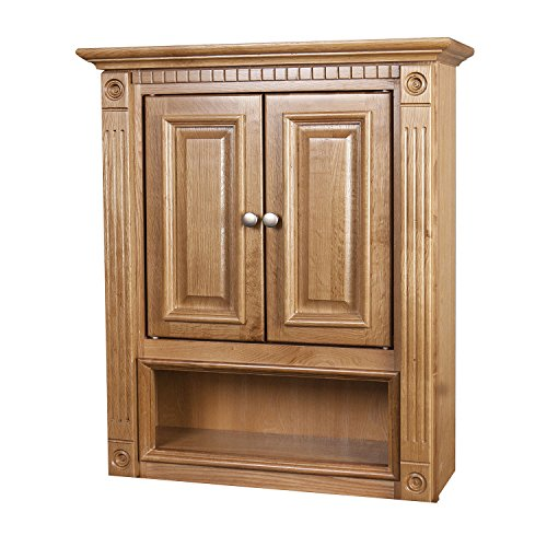 Heritage Oak 21X26 Bathroom Wall (Heritage 2 Door Cabinet)