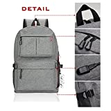 Winblo Laptop Backpack, 15 15.6 Inch College