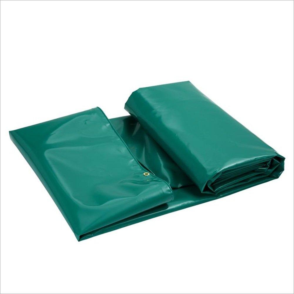 JIANFEI オーニング 防水 耐寒性日焼け止め耐性PVC、サイズ6、厚さ0.6mm (色 : Green, サイズ さいず : 3.9mx2.9m) B07FKCMK4G 3.9mx2.9m|Green Green 3.9mx2.9m