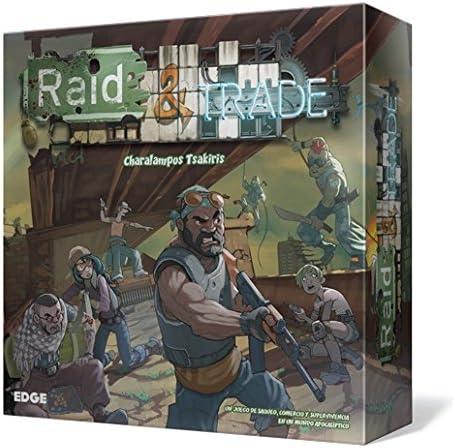 Edge Entertainment Raid & Trade - Juego de Mesa EDGRAT01: Amazon.es: Juguetes y juegos