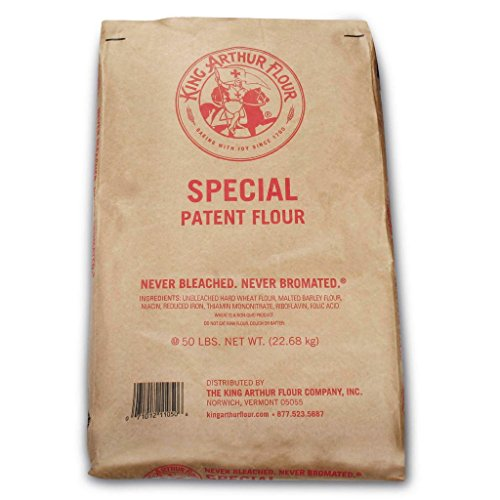 King Arthur Flour Special Patent Flour - 50 Pounds by King Arthur (Image #1)