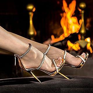 ZHZNVX Die neuen Sommer Feld mit Wasser bohren high-heel Schuhe tau-line mit Reißverschluss römische Frauen Schuhe Sandalen