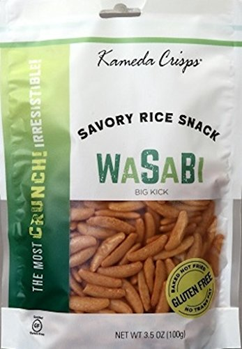 Kameda Crisps, Wasabi, 3.5 Ounce (Pack of 12)