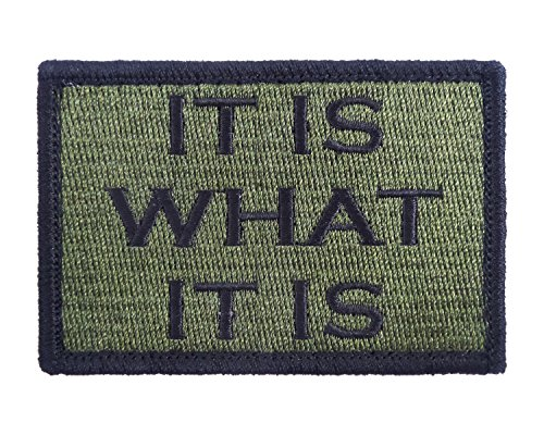 Tactical Velcro Embroidered Morale Tags