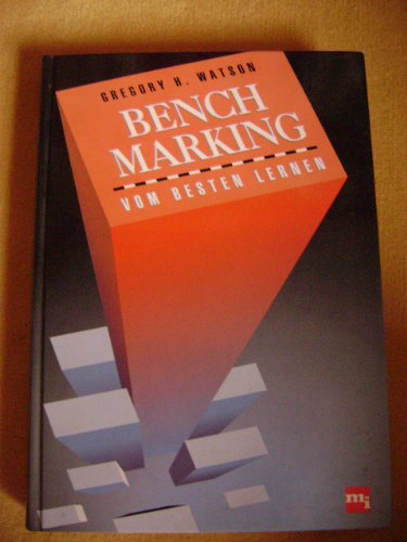 Benchmarking, Vom Besten lernen Gebundenes Buch – 1993 Gregory H. Watson Mi-Wirtschaftsbuch 347823090X 260660
