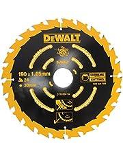DeWalt Cirkelsågblad (för handcirkelsågar utan spaltkil sågblad ø 190/30, 24WZ, för universell användning) DT10304