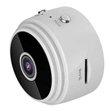 LEDU Cámara Oculta Mini Espía Cámaras HD 1080P 150 Grado Granangular Portátil Seguridad Niñera CAM con