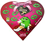 M&M'S Valentine's Day Milk Chocolate Candy Cupid's Mix Heart Boxes 4-Ounce Box (Pack of 6)