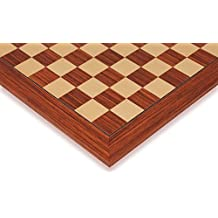Rosewood & Maple Deluxe Chess Board - 2.125 Squares by The Chess Store
