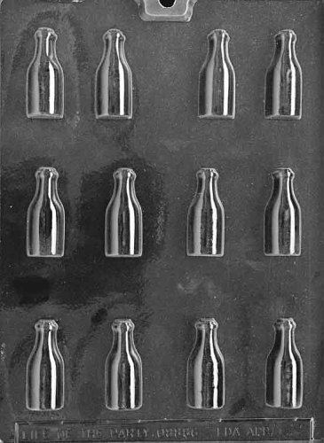 (Cybrtrayd Life of the Party AO028 Bottles All Occasions Chocolate Candy Mold in Sealed Protective Poly Bag Imprinted with Copyrighted Cybrtrayd Molding Instructions ,)