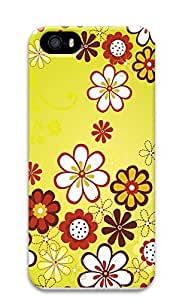 iPhone 5 5S Case Floral pattern 3D Custom iPhone 5 5S Case Cover