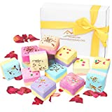 Bath Bombs Gifts Set Organic - Markline Cubes Size Vegan Natural Essential Oils Spa Fizzy Kit For Girls Women Mother's Day Valentine Christmas Birthday Gifts, Moisturize Dry Skin, Gift Packaged 12x2oz