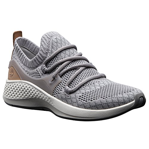 Timberland Womens FlyRoam Go Knit Chukka Sneaker, Gull Grey, Size 7