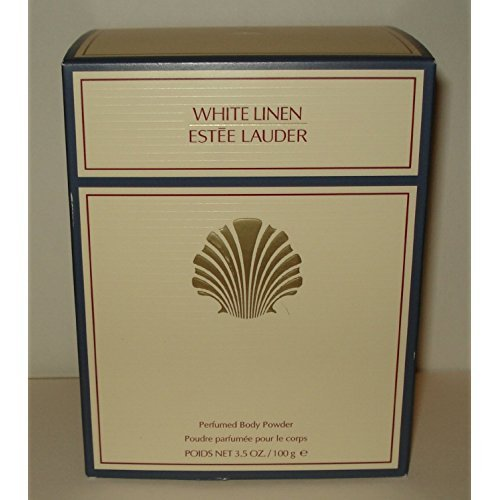 (Estee Lauder White Linen Perfumed Body Powder With Puff - 100g/3.4oz)