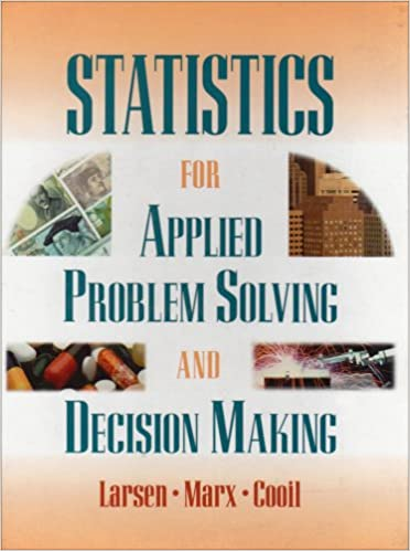 Amazon.com: Statistics for Applied Problem Solving and Decision ...