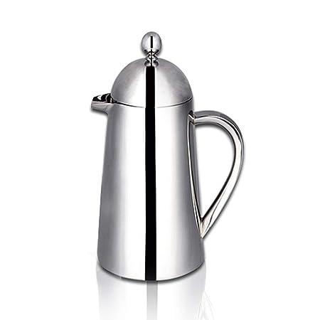 Cafetera de café francés de doble capa Todas las teteras de filtro ...
