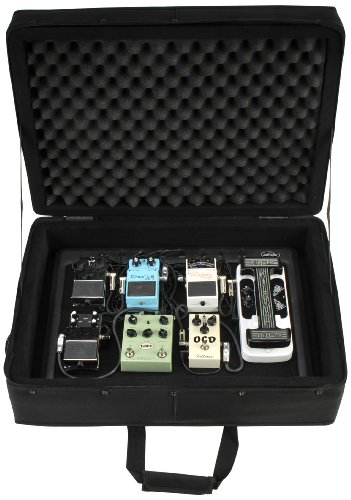 SKB 1SKB-PS-8PRO 9VDC Power 8-Port Powered Pedalboard with Soft Case by SKB