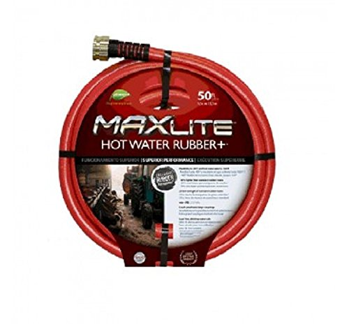 Swan Sghw58050 Maxlite Hot Water Rubber Hose, 50' (Hose Water Swan)