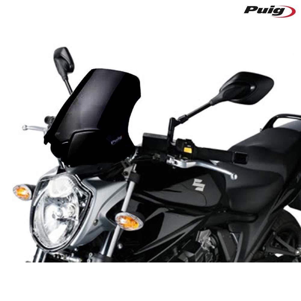 2013 Noir Taille M Puig 5027N-vent pour Suzuki GSF650 Bandit 2009 2011//GSF1250 Bandit 2010