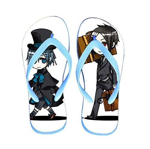 Bromeo Black Butler Anime Unisex Flip Flops Chanclas 70
