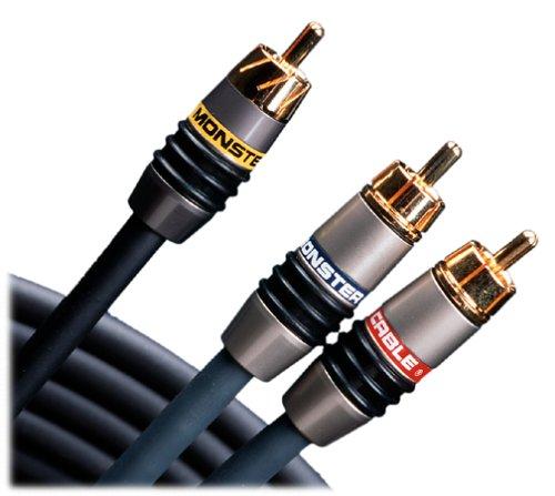Monster Cable MV3AV4-1M Monster Video 3/Interlink 400 MkII Advanced A/V Kit (RCA) 1 m. set (3.28 ft.)