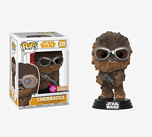 Funko - Star Wars-Chewbacca Flocked Exclusive Figura Multicolor, 26976