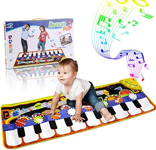 RenFox Musical Keyboard Education 43 3x14 2in product image