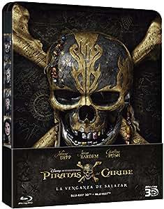 Piratas Del Caribe: La Venganza De Salazar -Steelbook (2D+3D) [Blu-ray]