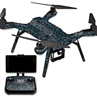 Skin For 3DR Solo Drone – Compass Tile | MightySkins Protective, Durable, and Unique Vinyl Decal wrap cover | Easy To Apply, Remove, and Change Styles | Made in the USA