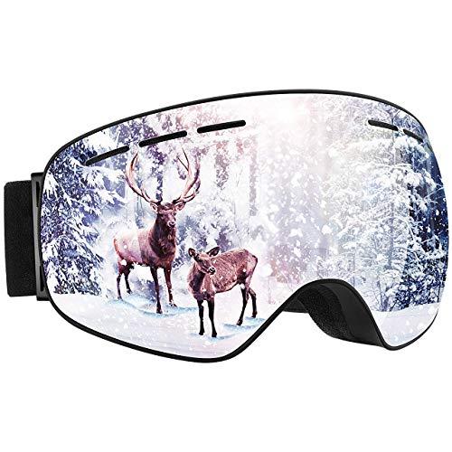 Mpow OTG Ski Goggles, Snowboard Skate Goggles, ...