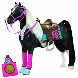 """Our Generation American Paint Horse For 18"""" Dolls"""