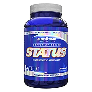 Blue Star Nutraceuticals Status Increase Healthy Testosterone (90 Capsules)