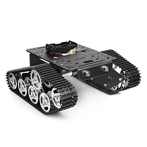 추적 로봇 스마트 카 플랫폼 금속 알루미늄 합금 탱크 섀시/Track..