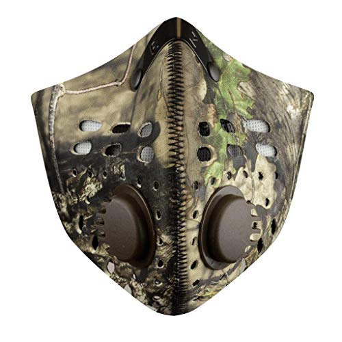 RZ Mask Dust Mask Break Up Country (Brown, Regular) by RZ Mask