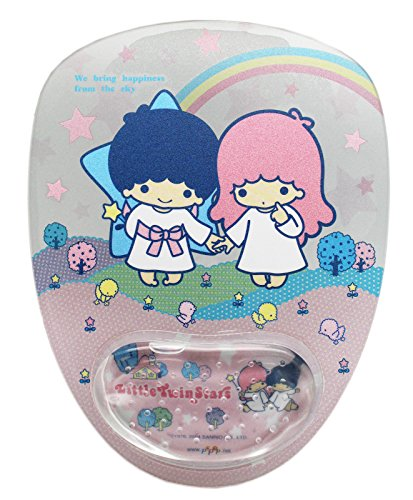 Sanrio's Little Twin Stars Holding Hands Mousepad w/Wrist Rest