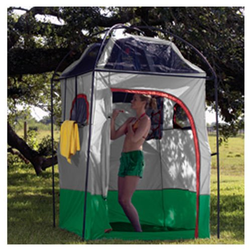 Deluxe Camper Shower / Shelter - Camp Shower and Shelter Combo Deluxe 4'6 x 4'6 x 87 by Mayday (Image #1)