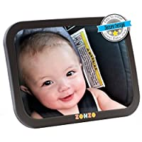 Baby Car Mirror for Back Seat | View Rear Facing Infant in Backseat | Securel...