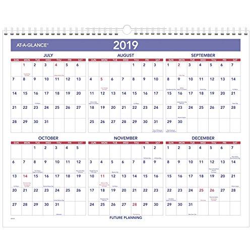 AT-A-GLANCE 2018-2019 Academic Year Wall Calendar, Medium, 15 x 12, Wirebound (AY828) by At-A-Glance (Image #2)
